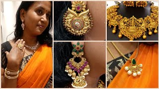 Latest Design One Gram Jewellery Starts from Rs500 | Bridal Heavy Earring |