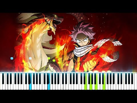 "[Fairy Tail: Final Series OP / Opening 23] ""Power of the Dream"" - lol (Synthesia Piano Tutorial)"