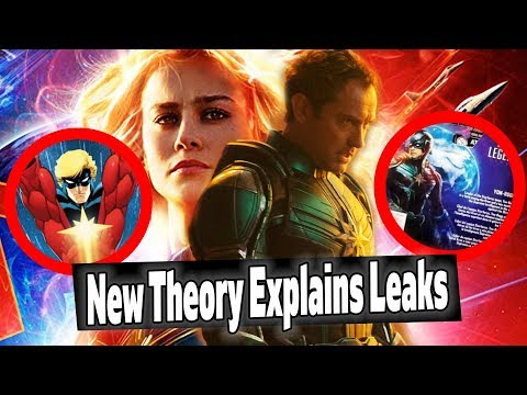CRAZY Captain Marvel Theory Explains Jude Law Character Leaks: Yon-Rogg AND Mar-Vell?
