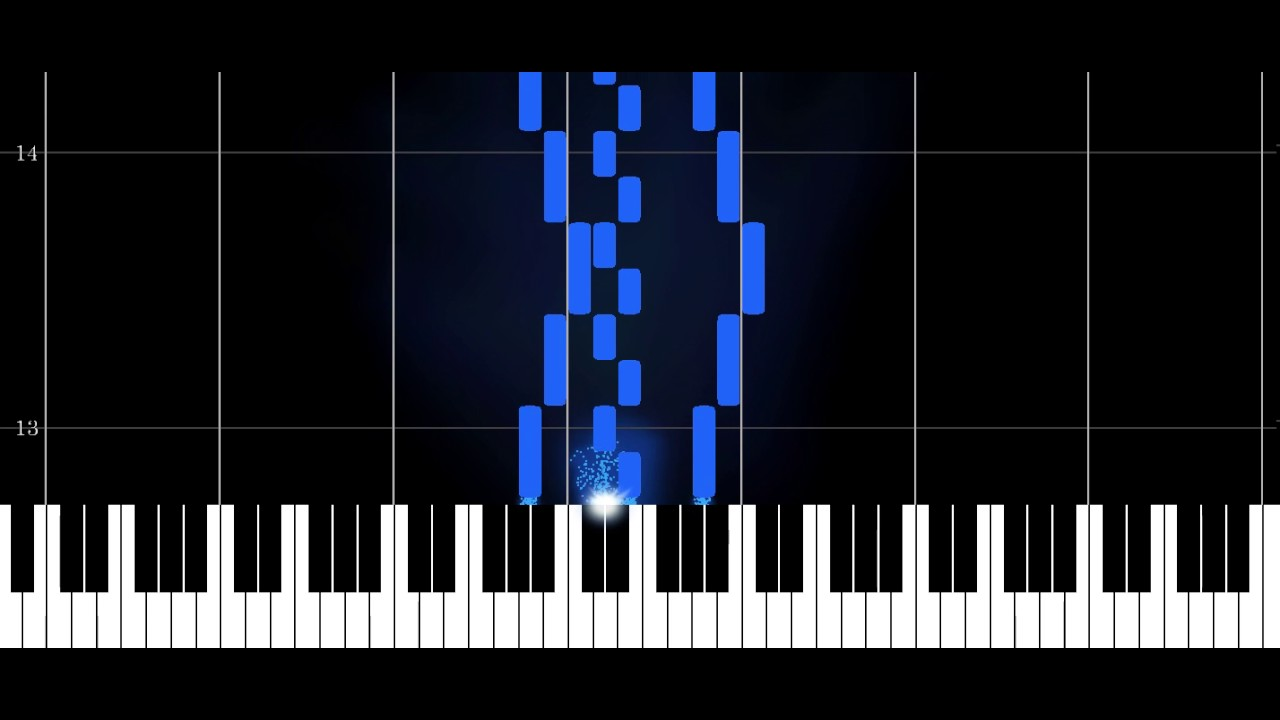 MIDI Visualizer - Final result