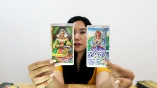 """Pisces ❤ """"AND ALL OF THE SUDDEN......."""" Mid February 2019 Love Tarot Reading"""