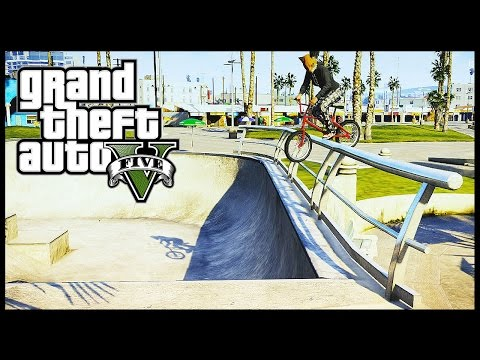 GTA 5 Epic BMX tricks montage #10 (Grinds, transfer, Flip ,Spin, wallride)