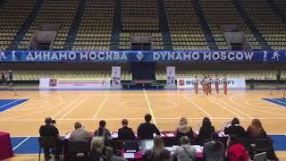 Чемпионат Москвы 2018 по фитнес-аэробике