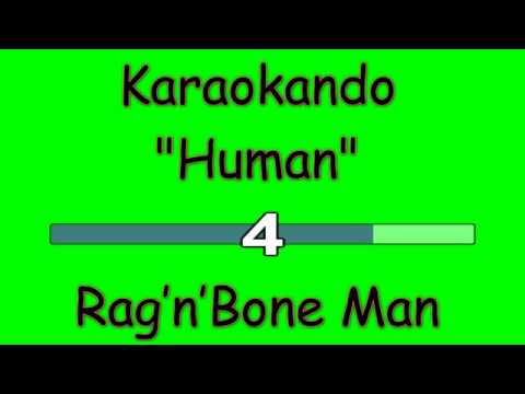 Karaoke Internazionale - Human - Rag'n'Bone Man ( Lyrics )