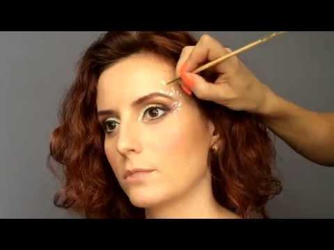 Шоколадный макияж для карих глаз для брюнеток