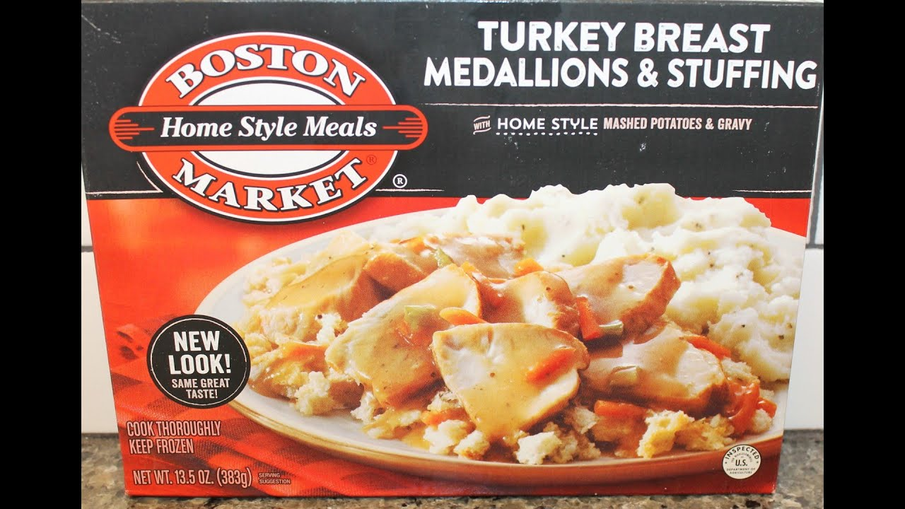 Boston Market: Turkey Breast Medallions & Stuffing Review ...