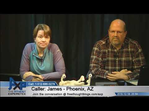 Ken Hamm Historical & Testable Science/Creationism   James - AZ   Atheist Experience 20.50
