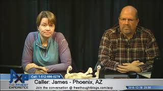 Ken Hamm Historical & Testable Science/Creationism | James - AZ | Atheist Experience 20.50