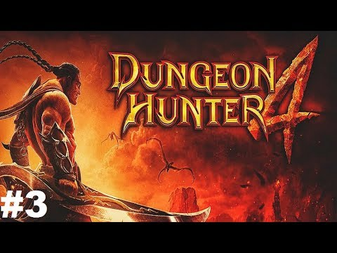 Dungeon Hunter 4 #3 Gameplay Прохождение Android/iOS Выполняем задания за Фехтовальщика