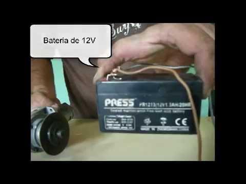 Amoladora a bateria - Conversion de amoladora a 12V - Noticias Corrientes