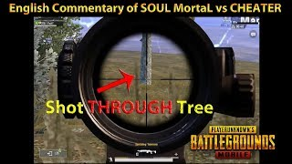 SOUL MortaL Plays EPIC Game But KILLED By CHEATER - English Commentary by DerekG | PUBG Mobile 0.9.1