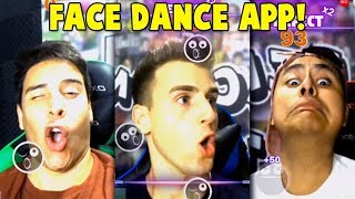 My Friends And I Do The Facedance Challenge