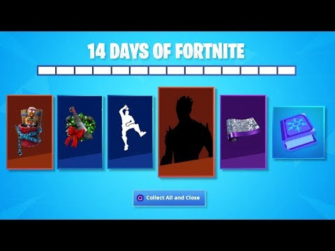 HOW TO UNLOCK ALL 14 DAYS OF FORTNITE REWARDS! NEW FREE 14 DAYS OF FORTNITE UNLOCKS/ REWARDS LEAKED!