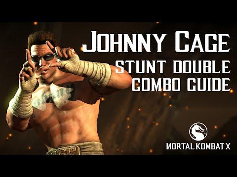 Mortal Kombat X: JOHNNY CAGE (Stunt Double) Beginner Combo Guide