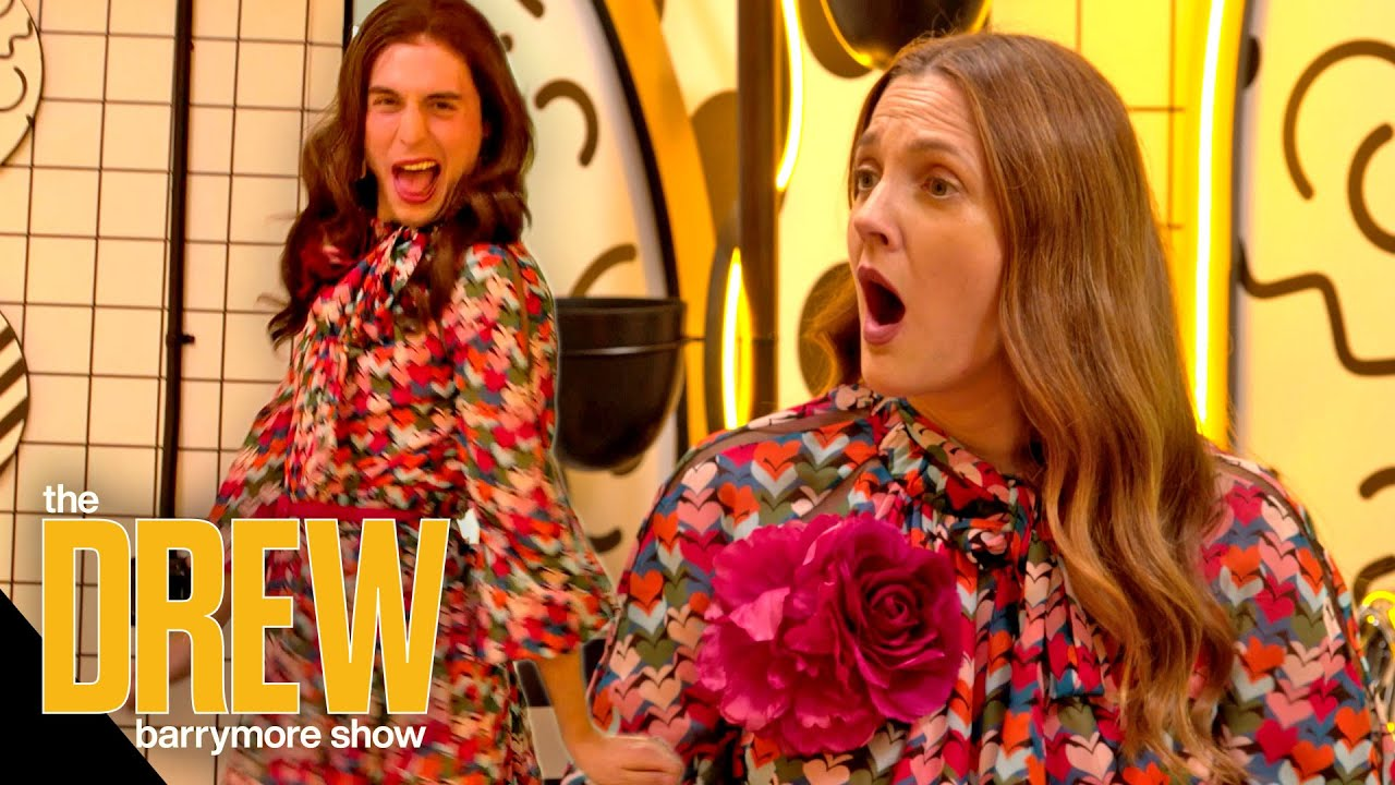 Download Benito Skinner Impersonates Drew Barrymore as He Reveals Secrets Behind His Iconic TikTok Characters