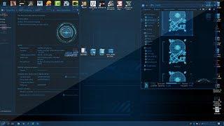 Windows 10 Iron man Jarvis Style Theme Customization