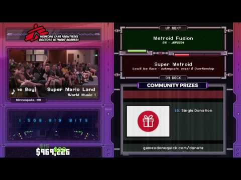 Metroid Fusion by JRP2234 in 1:31:46 - SGDQ2017 - Part 123
