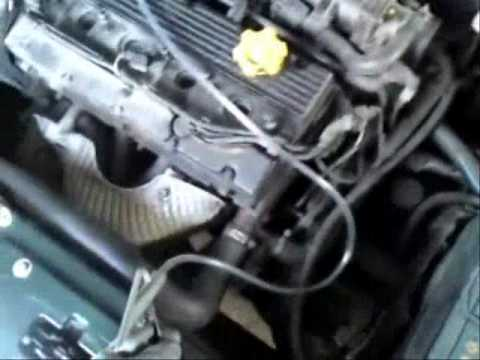 Rover K-series, faulty intake gasket