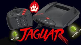 Atari Jaguar on Android Emulation with Samsung Galaxy S8+ 17 Games tested