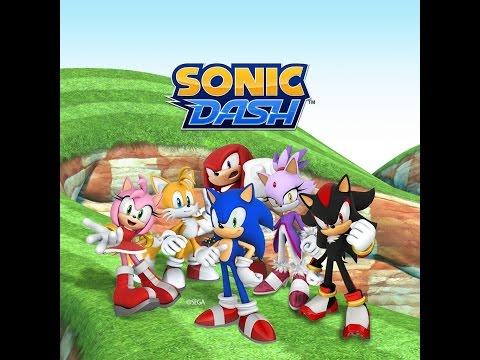Sonic Dash Unlocked Shadow The Hedgehog