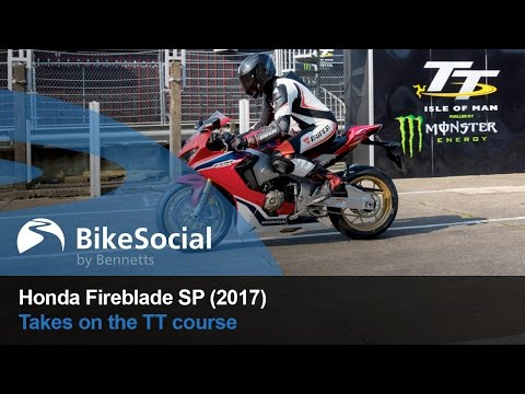 2017 Honda Fireblade SP meets the Isle of Man TT Mountain Course | BikeSocial