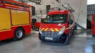 (SDIS 84) Caserne + véhicules sapeurs-pompiers Vaison La Romaine!