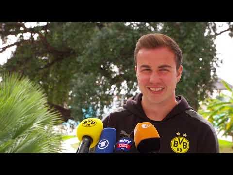 BVB-Medienrunde mit Mario Götze in Marbella