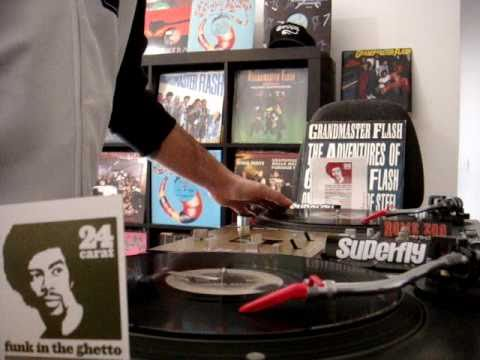 The Adventures of GrandMaster Flash on the Wheels of Steel cover