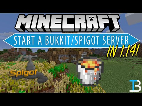 How To Make A Bukkit Server In Minecraft 1.14 (Add Plugins To Your Minecraft 1.14 Server!)