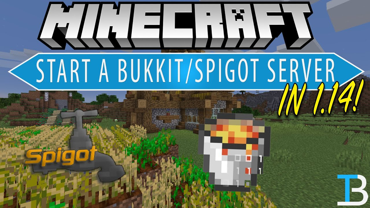 How To Make A Bukkit Server in Minecraft 1.14 (Add Plugins To Your Minecraft  1.14 Server!) - YouTube
