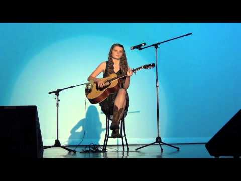 Brooke Harrison Performing Ours - Williams Talent Show (Nov 2012)