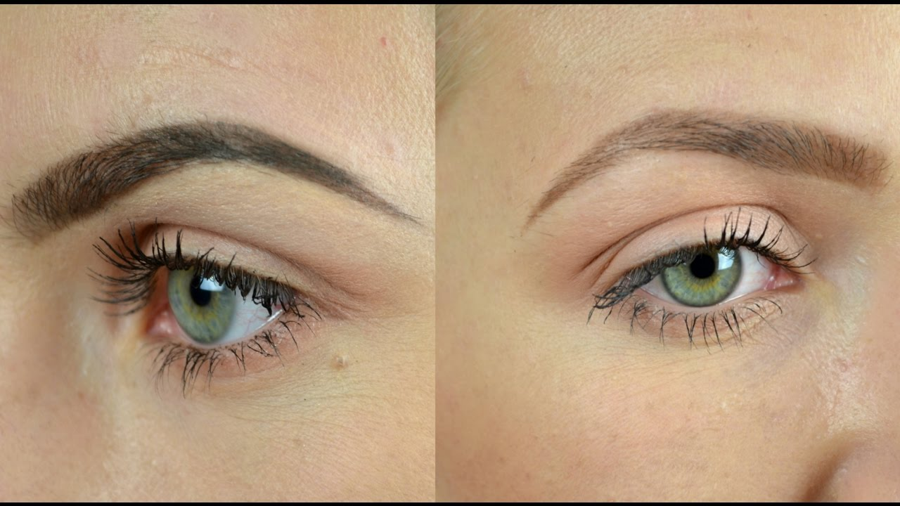 Eyebrows For Beginners Soft Natural Defined Refined Youtube