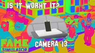 Acheter appareil photo 13 - Est-il la peine? Simulateur de renommée (ROBLOX)