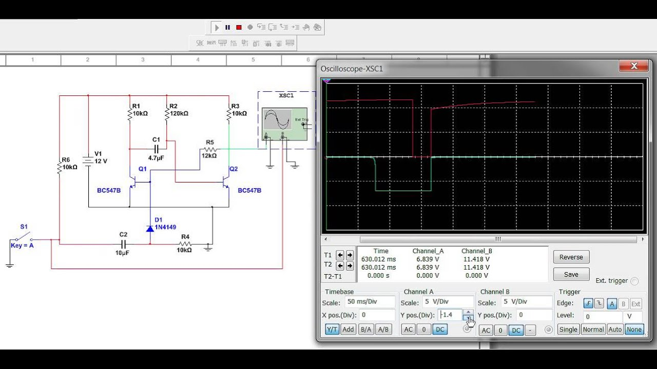 Monostable Multivibrator Circuit Youtube Experiment 15 The Astable With 555