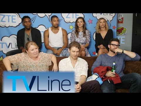 The Originals Interview  | TVLine Studio Presented By ZTE | Comic-Con 2016