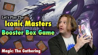 mtg lets play the iconic masters booster box game opening magic the gathering cards