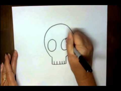 Learn Drawing - Skull & Crossbones