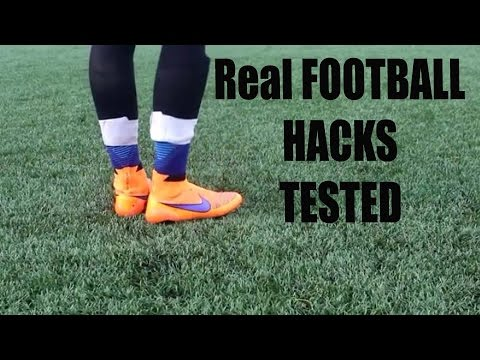 FOOTBALL life hacks TESTED (they work)