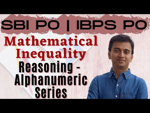 Mathematical Inequality | SBI PO 2017 Online Classes #DAY 27