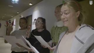 USWNT GOES CAROLING AT TEAM HOTEL ● US SOCCER HOLIDAY TWITTER VIDEO ● MAL, ROSE, EMILY, and SAM