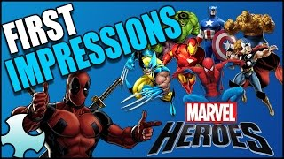 Marvel Heroes 2017 First Impressions