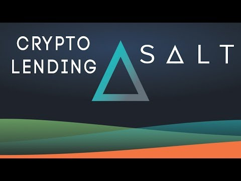 Lending Crypto Assets with SALT