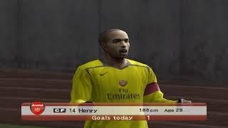 Pro Evolution Soccer 6 - 2006 - Arsenal F.C. VS A.C. Milan (PC)