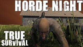 7 Days to Die Modded - True Survival - Day 21 Horde