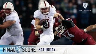 Highlights: No. 8 Stanford football survives Washington State