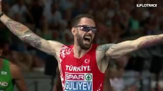 Ramil Guliyev 19.76 200m Wins 2018 European Championships