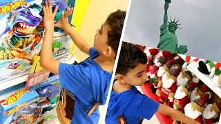 COMPRAMOS BRINQUEDOS E ENFEITES DE NATAL | compras de natal | presentes de natal