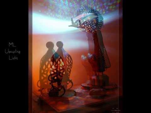 Leuchten, Lampen, Lichtobjekte aus schönem Schrott und hübschen Fundstücken - ML Upcycling Licht (2)
