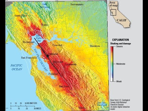 Hayward Bay Fault Line More Dangerous Than San Andreas Could Kill 800 People Says USGS