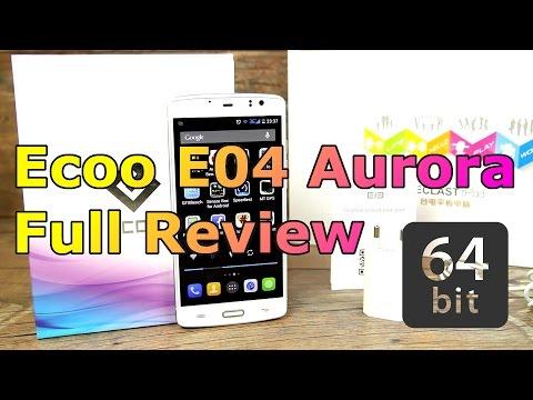 ECOO E04 Aurora Review - 4G LTE Smartphone - MT6752 64-Bit OctaCore - FHD + Fingerprint ! [HD]